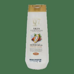 Q7Paris Cocoa Glow Skin Lightening Premium Shower Cream: Blemish Control with Licorice – 850ml