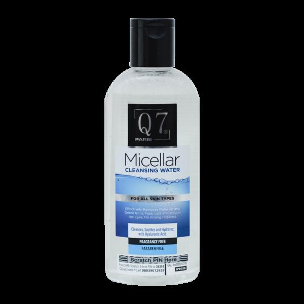 Q7Paris Micellar Cleansing Water – 250ml