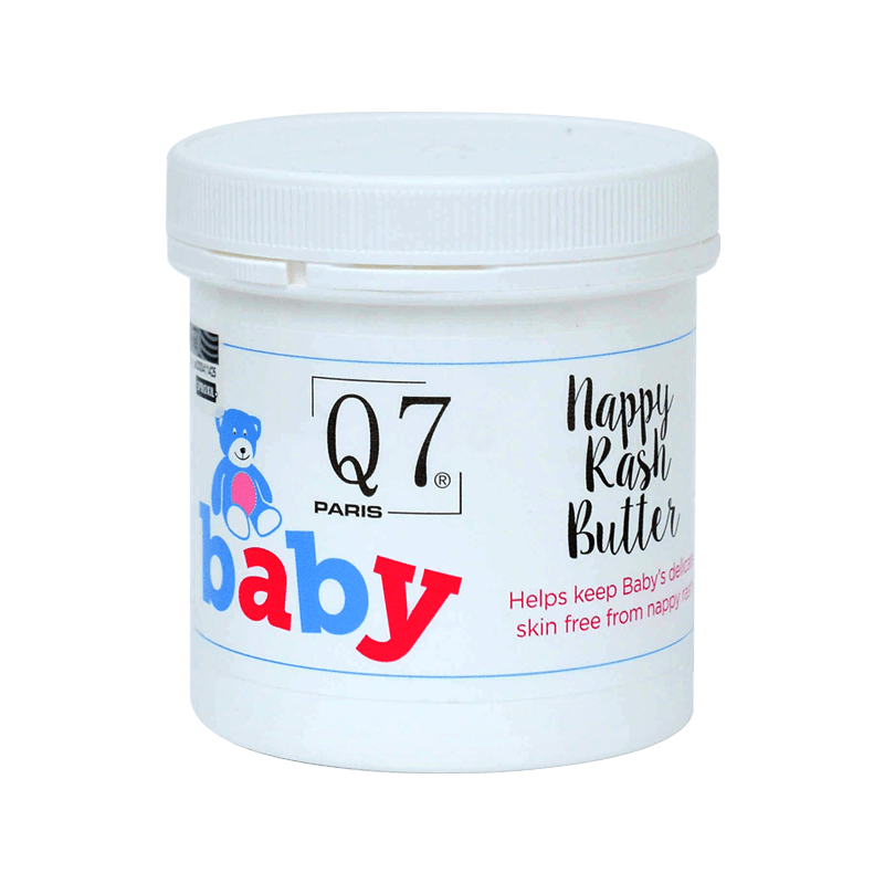 Q7-Baby Nappy Rash Butter ('Angel Flower'): with Castor Seed Oil- 200ml