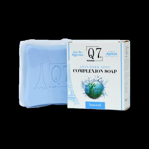 Q7Paris Anti-Dark Spot Complexion Soap: with Kojic Acid and Seaweed – 200g