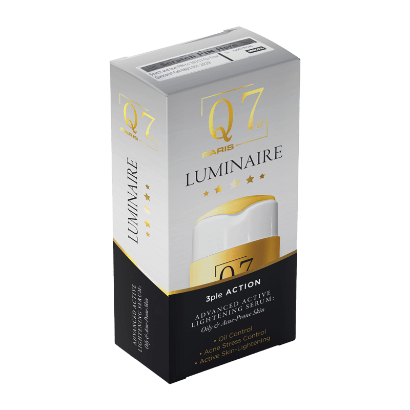 Luminaire 3ple Action Advanced Active Lightening Serum: Oily & Acne-Prone Skin – 30ml