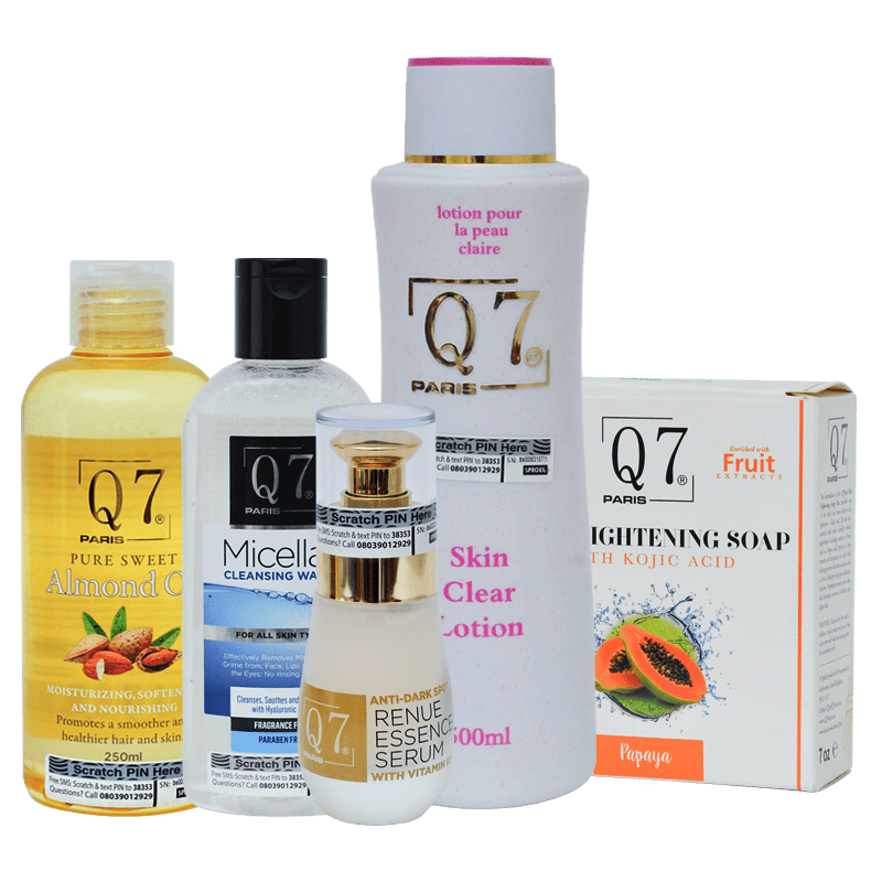 Complexion Unifying Skin Brightening Bundle: 5-in-1