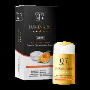 Q7 Paris Luminaire AM-PM Multi-Action Intensive Lightening Face Cream with Vitamin C and Glutathione 30ml